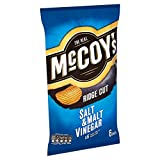 McCoys Ridge Cut Chips Salt & Vinegar 6 x 30g
