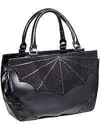 Banned Black Widow Handbag (Black)