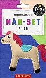 Näh-Set: Filzanhänger Pferd (100% selbst gemacht)
