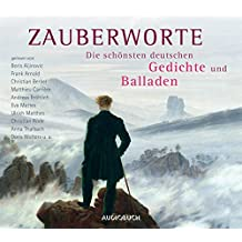 Zauberworte - Die schönsten deutschen Gedichte und Balladen (6 CDs mit 436 Minuten und Booklet)