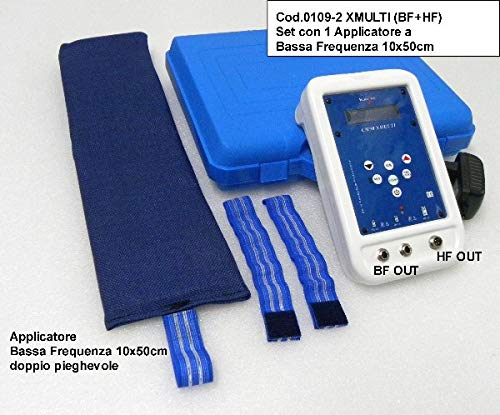 Magneto-ter.cemp bassa+alta frequenza con set 1 fascia b.f. 10x50cm (cod.0109-3)
