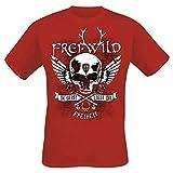 Frei.Wild - Im Geist Liegt Die Freiheit T-Shirt, rot, Grösse S