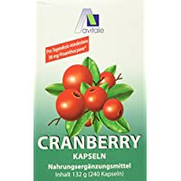 Avitale Cranberry Kapseln 400 mg, 240 Stück,  1er Pack (1 x 132 g)