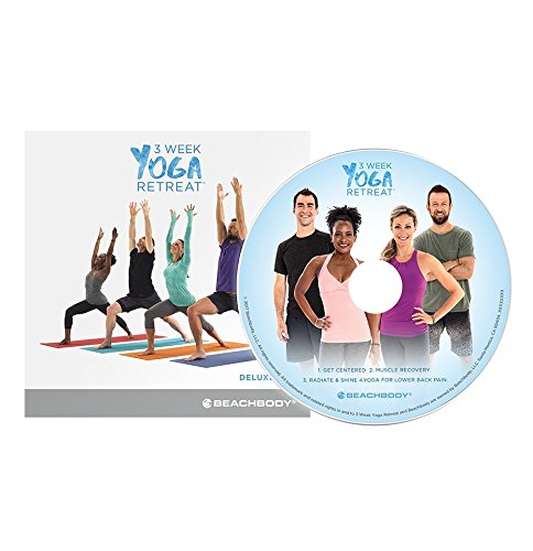 Beachbody 3 Week Yoga Retreat Deluxe DVD: Continue your yoga practice, with 4 different yoga classes that target problem areas