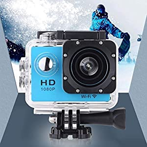 Vemont-WIFI-Full-HD-Action-Kamera-20-Zoll-Bildschirm-12MP-1080P-30m98-Fu-Wasserdichte-Sports-Kamera-170Weitwinkel-mit-Zubehr-Kits