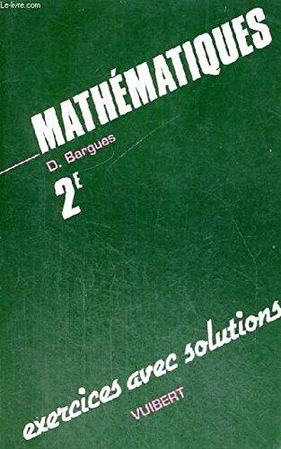 Maths 2nde