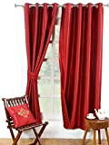 Avocett Maroon Door Curtain