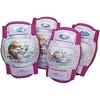 EURASIA Cartoons Kit protezione gomitiere-ginocchiere frozen