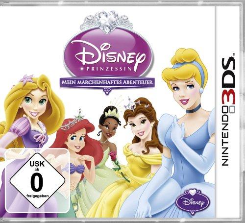 Disney Prinzessin - Mein Märchenhaftes Abenteuer [Software Pyramide] - [Nintendo 3DS] (Prinzessin Tiana Zauberstab)
