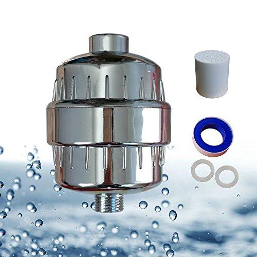 Wasser-filter-system Hartes (Dusche Kopf Filter für harte, Wasser, 7Filtration zu entfernen Chlor und Schwermetalle, mehr gesunde Dusche für Haar und Haut)
