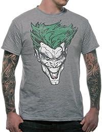 Men's Batman Joker Retro Face T-Shirt  4788TSCPS