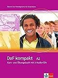 Daf Kompakt in 3 Banden: Kurs- Und Ubungsbuch A2 MIT 2 Audio-Cds by Ilse Sander (2011-04-15)