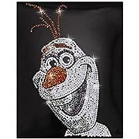 Simba 109442895 - Quadretto da decorare con paillettes, motivo: Olaf