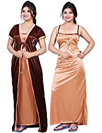 7df6d2c959 Amazon.in  Satin - Nighties   Nightdresses   Sleep   Lounge Wear ...