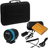 Fotodiox pro powerLynx 12 pôles couleurs: b4 objectif pour mFT black magic pocket cinema turbopack 9000mAh batterie, adaptateur, câble)