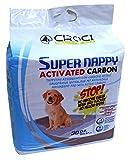 Croci C2058418 Super Assorbenti per Pannolini Assorbenti con Carbone Attivo per Cani