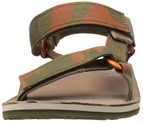 Teva Original Universal Brushed Canvas Sandals Dark Olive