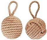 nautical corda nodo fermaporta.2fantasie-Scegliete spirale o tramaMisure 14x 14x 14cm