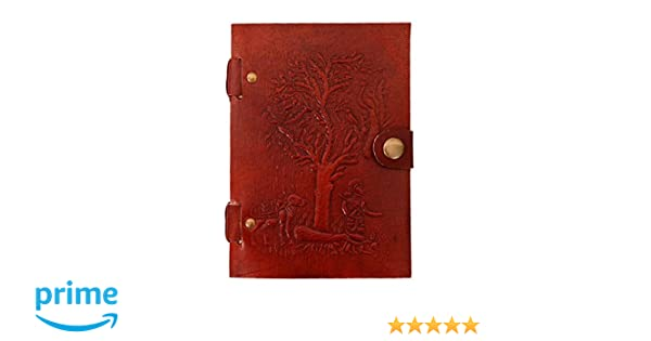 Travel Journal Notebook 10527 Purpledip Vintage Diary Meditating Buddha: Naturally Treated Paper Encased In Leather Cover For Corporate Gift Or Personal Memoir