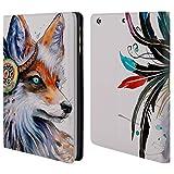 Head Case Designs Offizielle Pixie Cold Fuchs Tiere Brieftasche Handyhülle aus Leder für iPad Mini 1 / Mini 2 / Mini 3