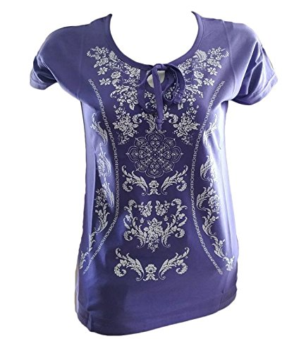 4way55collections Tops for Women royal purple