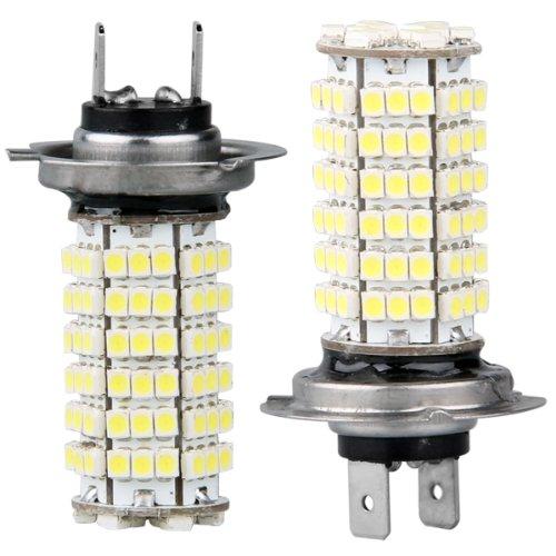 CARCHET® 2x H7 120 3528 SMD LED Scheinwerfer Weiß Auto KFZ Leuchte Birne Lampe DC 12V