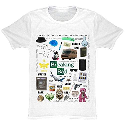 "T-Shirt HommeSublimation"" Icône Breaking Bad, Vêtements / Tee shirts"
