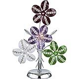 Grandiose 1-flg Tisch Schreibtisch Lampe Hobbyzimmer Chrom Globo KAUNOS 51422T