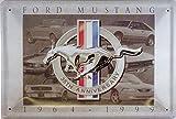 Ford Mustang 1964-1999 Plaque métal courbé Nouveau 20x30cm VS1991