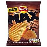 Walkers Max Flamme gegrilltes Steak Crisps 50g (Packung mit 24 x 50 g)
