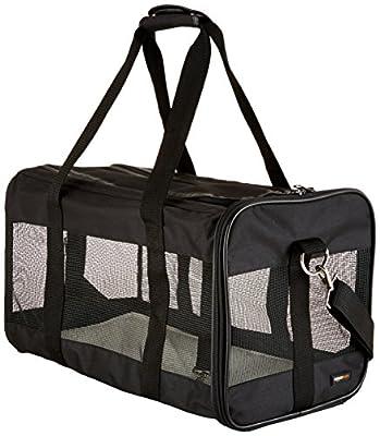 AmazonBasics Black Soft-Sided Pet Carrier - Small/Medium/Large