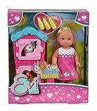 Simba 105733065 - EVI Love Puppe mit Hasenstall
