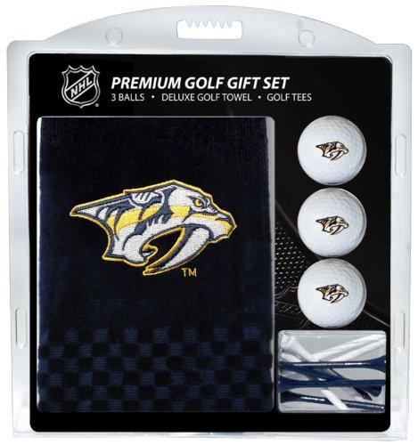 Team Golf NHL Herren Golfhandtuch Bestickt (3 Golfbälle/12 T-Shirt), Herren Unisex Damen, 14520, Mehrfarbig, 16