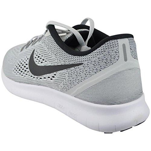 Nike Free RN grau Herren Damen Laufschuhe (Sneakers) mit Socken Grau