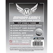 50 Mayday 87 x 112 Munchkin Dungeon Magnum Oversized Premium Card Sleeves Board Game