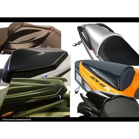 Kawasaki Z75007–11/Z100007–09/Z750R 11–12/carbonio look-silver Mesh–Seat