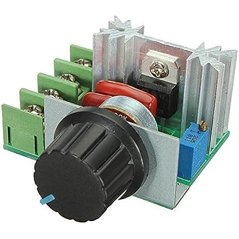 Controlador de velocidad de 220V de tensión ajustable Regulador PWM motor de CA - 2000W 50V