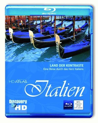 Discovery HD Atlas: Italien [Blu-ray]