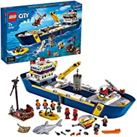 LEGO® City Oceaan Onderzoekschip 60266, cool bouwspeelgoed voor kinderen (745 onderdelen)