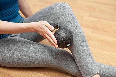Faszienball / Faszienrolle / Double-Ball »BlackCat« / ideal zum Faszientraining & zur Selbstmassage / unterschiedliche Varianten & Größen / Farbe : Schwarz von #DoYourSports