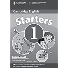 Cambridge Young Learners English Tests Starters 1 Answer Booklet: Examination Papers from the University of Cambridge ESOL Examinations