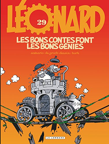 Léonard, tome 29 : Les bons contes font les bons génies