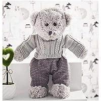PFHB Sweater Bear Couple Teddy Bear Plus Toys Sweater 35cm