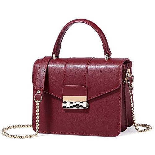 inverno signora/Serratura piccola/Portatile versatile borsa a tracolla retro/Borsa piccola tracolla-B B