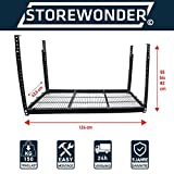 Deckenregal Original STOREWONDER© Regal Garage Kellerregal Metall Regalsystem JETZT EINFACH NEUEN STAURAUM SCHAFFEN! UNGENUTZEN PLATZ zu WERTVOLLEM STAURAUM machen!