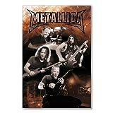Elite*Posters Póster: Metallica Metal Rock Band Grupo (A1Maxi–61x 91,5cm/24x 36in, Semi-Gloss Papel Satinado)