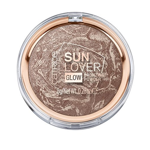 Catrice Teint Puder Sun Lover Glow Bronzing Powder Nr. 010 Sun-kissed Bronze 8 g (Sun Highlighter)