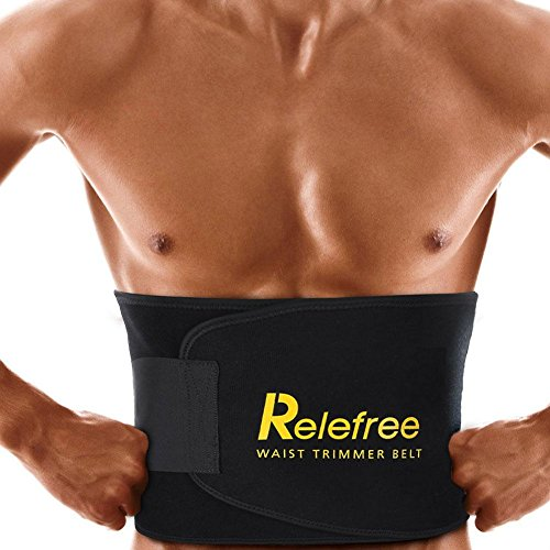 Relefree Faja de Neopreno Reductora Peso Adjustable Adelgazar para la Cintura / Espalda / Lumbar