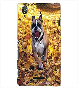 SONY XPERIA T3 DOG Designer Back Cover Case By PRINTSWAG