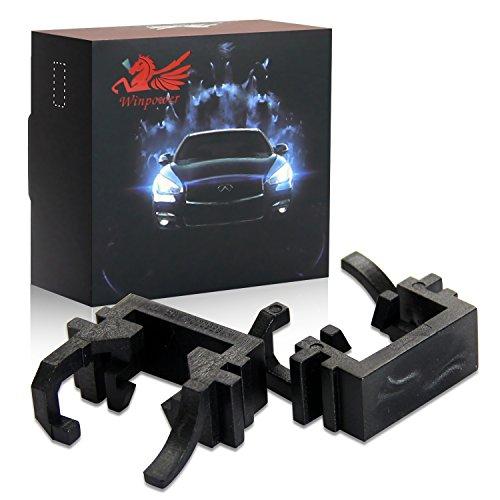 Win Power H1 Support d'adaptateurs pour LED ampoules de phare , lot de 2